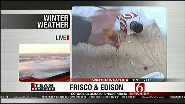 News On 6 Meteorologist Nick Bender's Science Experiment With Frozen Banana