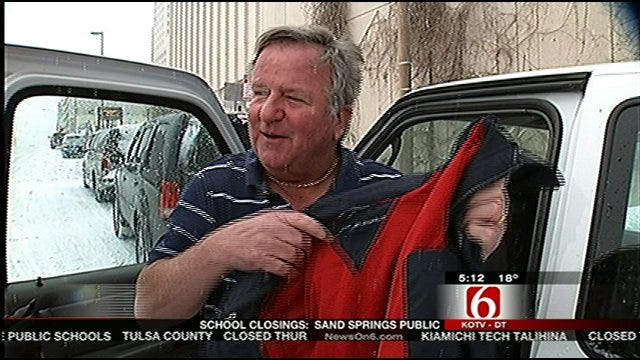 Tulsa City Employee Runs Hot In The Coldest Weather