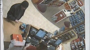 WEB EXTRA: Surveillance Video From A Tulsa Store Showing Serial Robber
