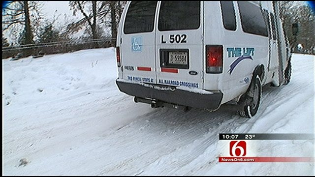 City Of Tulsa Helping Dialysis Patients Get Treatment During Blizzard