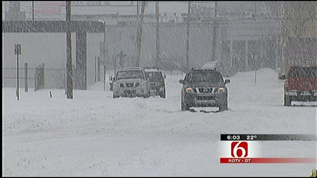 City Of Tulsa Plans Snow Plowing, Removal Strategy