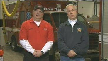 CBS Interviews Quapaw Tribes' Fire Chief Jeffrey Reeves & Miami Fire Chief Ronnie Cline