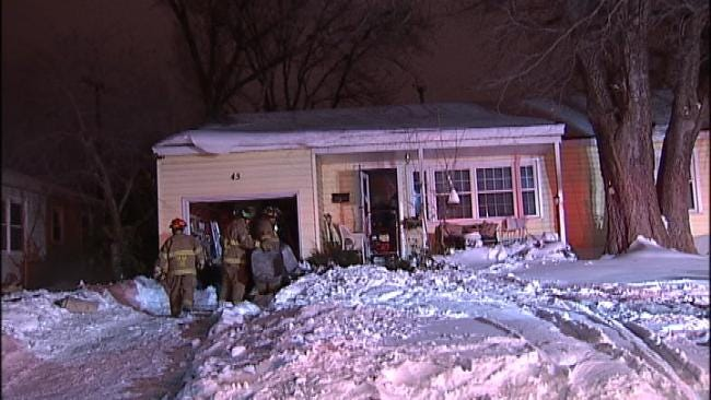 WEB EXTRA: Video From Scene of Tulsa House Fire Friday Morning