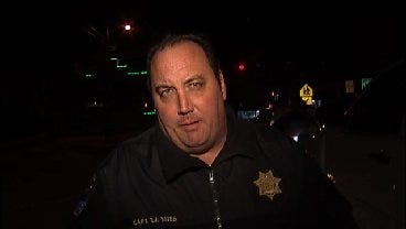 WEB EXTRA: Tulsa Police Captain Travis Yates Talks About Burglary Arrest