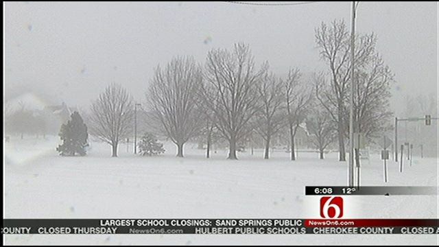 Oklahomans Lend Helping Hand During Winter Storm