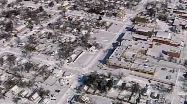 SkyNews 6 Sand Springs Blizzard Aftermath