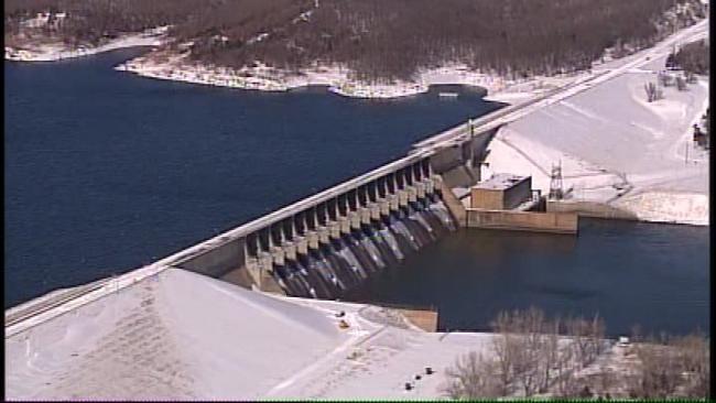 SkyNews 6: Keystone Dam Blizzard Aftermath