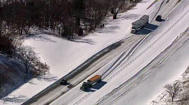 SkyNews 6: Abandoned Semi Trucks On East 412