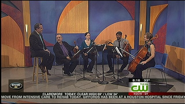 Quartet San Francisco Performs On Six In The Morning