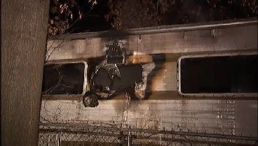 WEB EXTRA: Video From Scene Of West Tulsa RV Fire