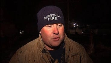 WEB EXTRA: Berryhill Firefighter Donny McMasters Talks About House Fire