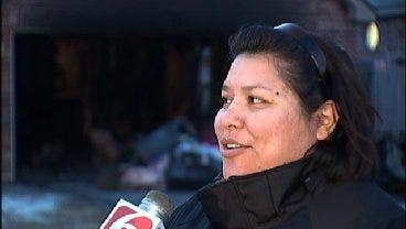 WEB EXTRA: Broken Arrow Neighbor Lynn Iron Talks About House Fire