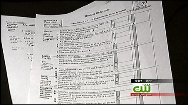 Valentine's Day To Mark Start Of Tax Season For Some Oklahomans