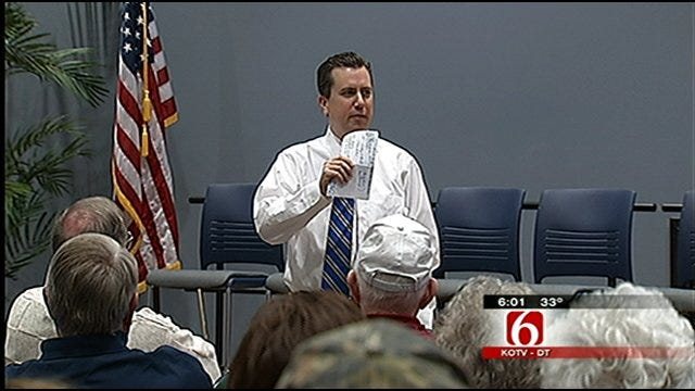 Security Tight At Claremore Town Hall Event In Wake Of Arizona Shootings