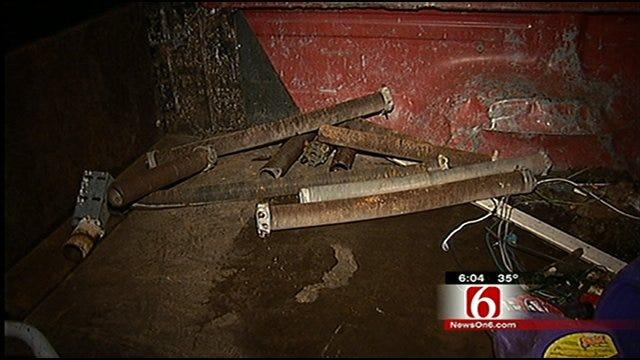 Tulsa Business Owner Holds Burglar At Gunpoint For Police