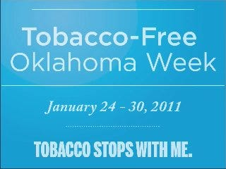 Tobacco Stops With Me: Piggy Bank