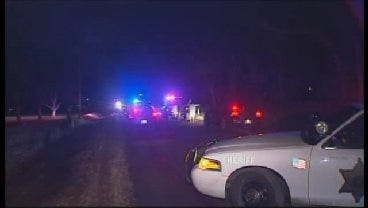 WEB EXTRA: Video Of The Deadly Double Shooting In Rural Tulsa County