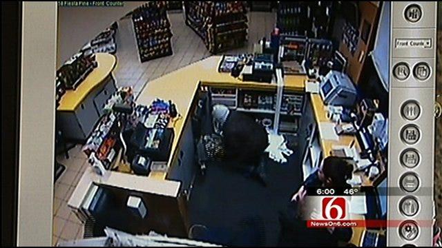 Watch: Surveillance Video From Tulsa Fiesta Mart Armed Robbery