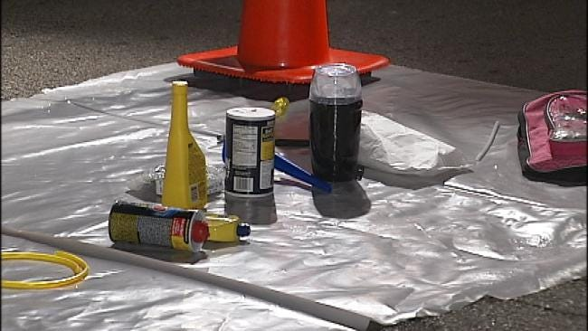 WEB EXTRA: Video From Scene Of Mobile Meth Lab Bust