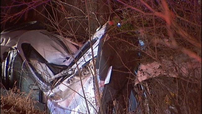 WEB EXTRA: Teen Killed In High Speed, Rollover Wreck