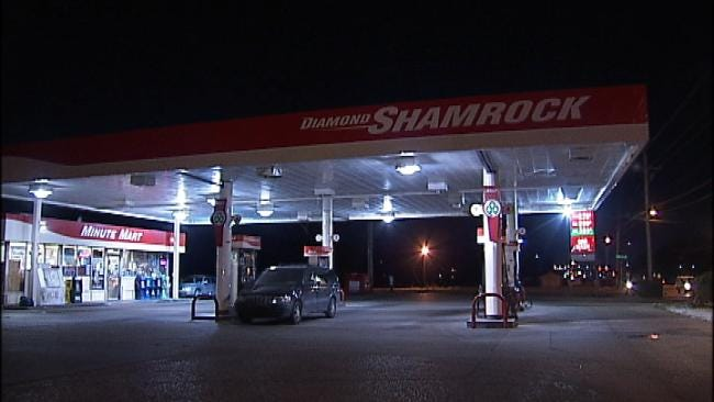 WEB EXTRA: Video From Scene Of Convenience Store Robbery