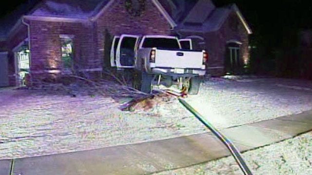 WEB EXTRA: Video From Scene Of The End Of OHP Chase In Broken Arrow