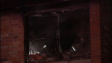 WEB EXTRA: Video From Scene Of Mohawk Manor Apartment Fire