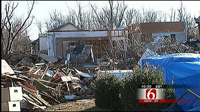 Cleanup Continues In NW Arkansas Town Hit By Tornado