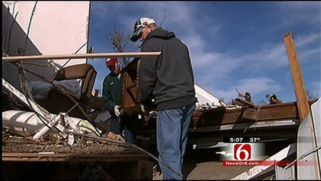Small Northwest Arkansas Town Devastated By Deadly Tornado