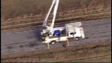 SkyNews 6: View Of Damage Around Westville In Adair County