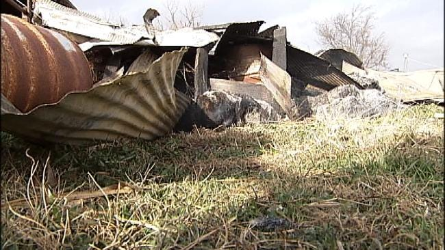 Auction House Owner Suspects Arson In Destruction Of Vinita Barn