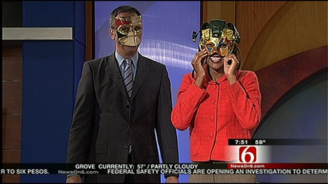 Crystal Ball Masquerade Party In Downtown Tulsa Friday Night