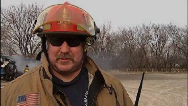 WEB EXTRA: Tulsa Fire Captain David Brown Talks About RV Fire