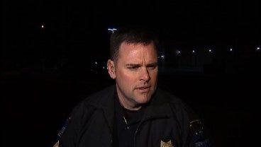 WEB EXTRA: Tulsa Police Sgt. Quentin Houck Talks About Liquor Store Burglary