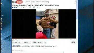 WEB EXTRA: Watch Youtube Video Of Broken Arrow Marine Homecoming