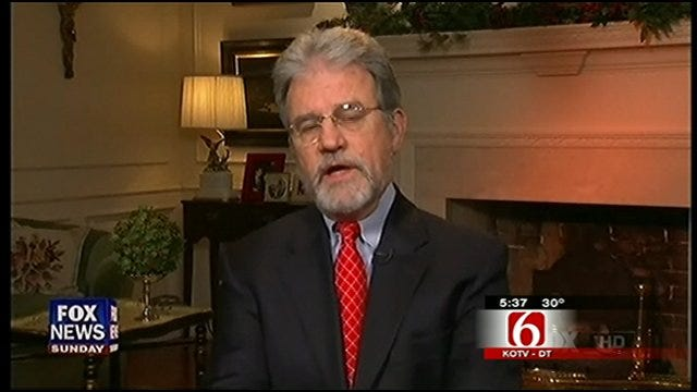 Sen. Coburn Warns Offers Dire View Of Economy