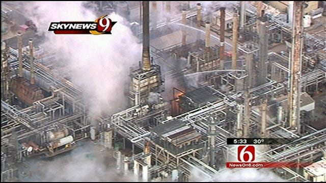 Wynnewood Refinery Explosion Shakes Area