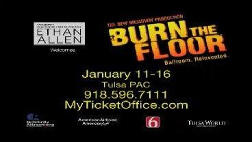 Celebrity Attractions: Burn The Floor