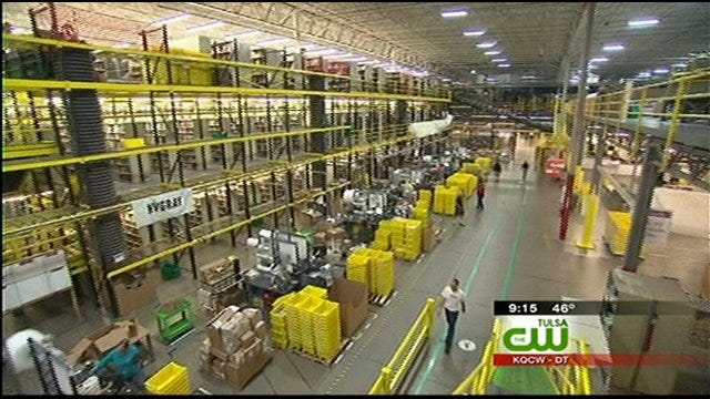 Take An Inside Look At An Amazon.Com Distribution Center