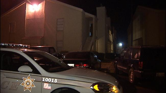WEB EXTRA: Video From Scene Of Cimarron Apartment Attempted Robbery