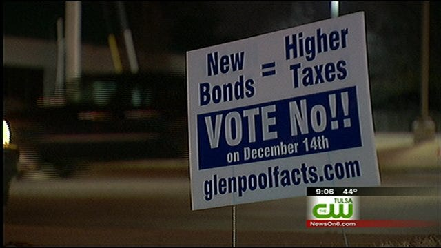 Multi-Million Dollar Bond Issue In Glenpool Faces Opposition From Business Owners