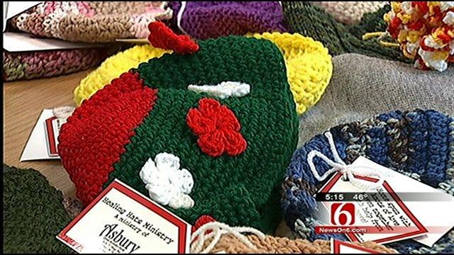 Asbury Methodist Group Knits, Crochets Healing Hats