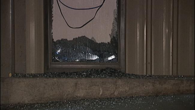 WEB EXTRA: Video Of Scene At Tulsa Grocery Store Burglary