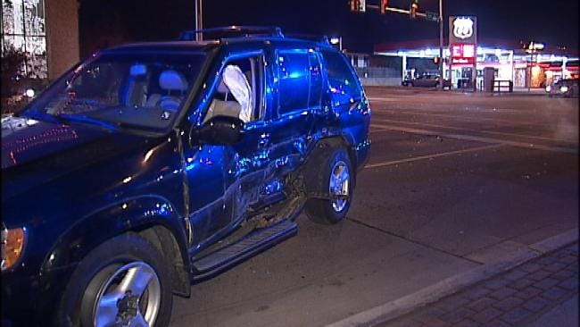WEB EXTRA: Video From Wreck At 15th And Utica