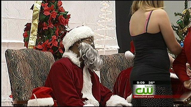 Santa and Mrs. Clause Make Early Visit To Tulsa