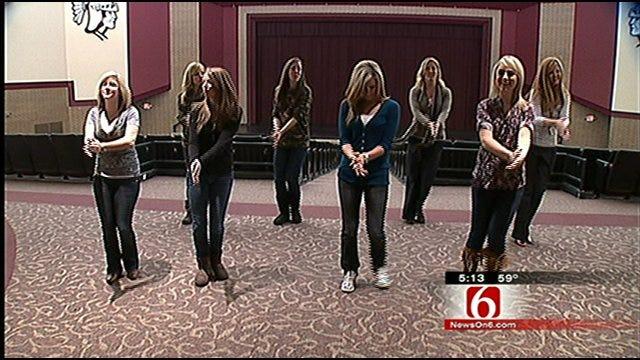 Jenks Teachers Show School Spirit Through 'Gold Ball' Dance