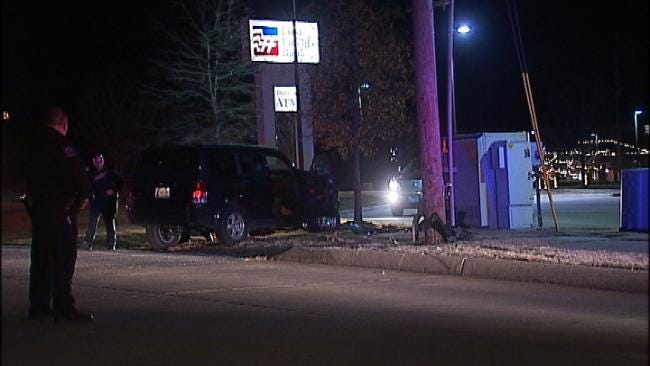 WEB EXTRA: Video From Scene Of SUV Wreck On Yale
