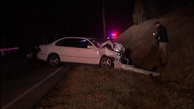 WEB EXTRA: Video From Scene Of Head On Wreck On Yale