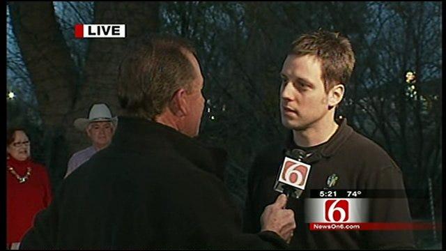 News On 6 Chief Meteorologist Travis Meyer Talks With Rhema Marketing Director David Wildman