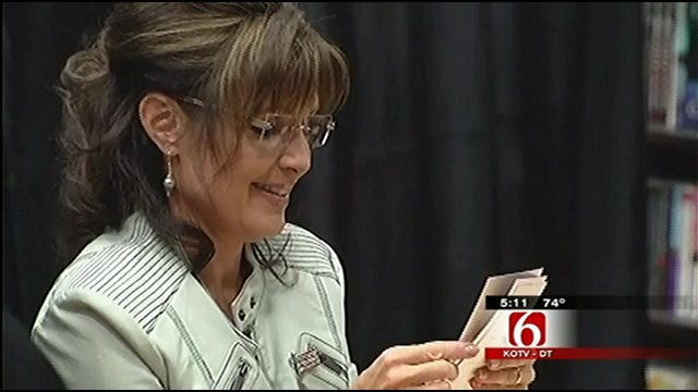Sarah Palin To Make Black Friday Visit To Tulsa